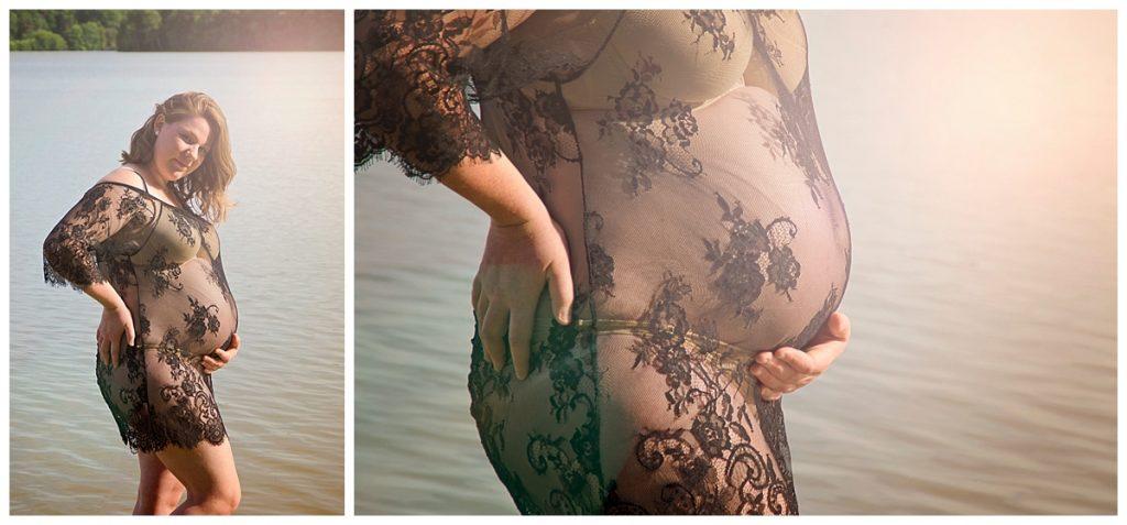 photo de grossesse à l'eau