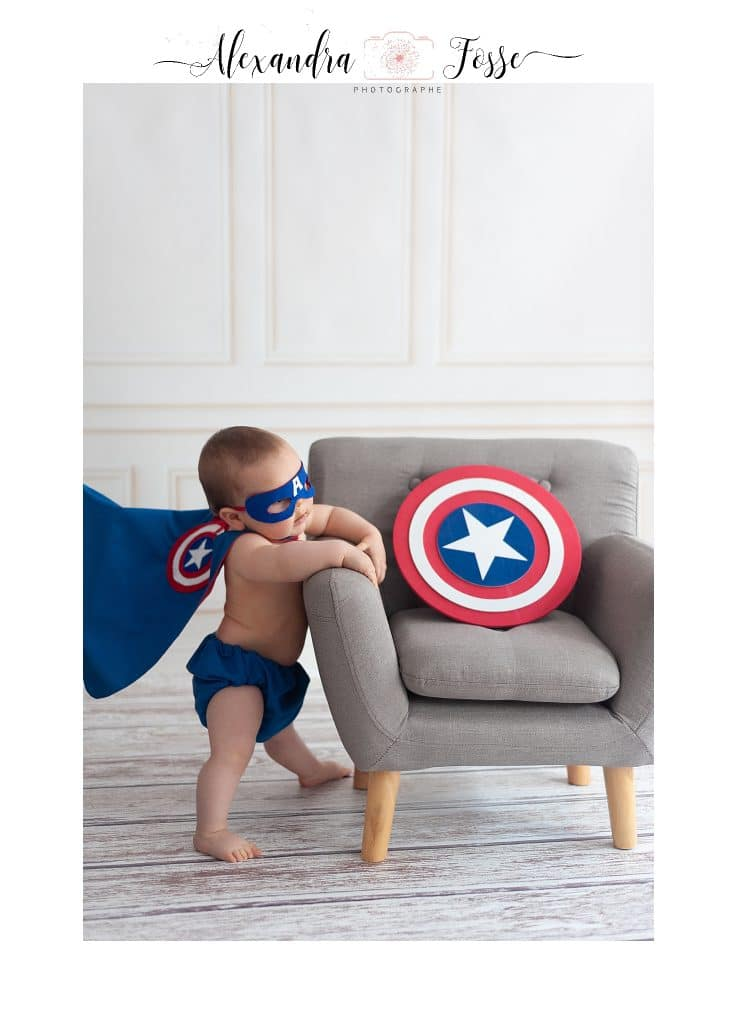 séance photo super héros